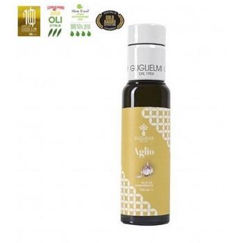 Huile d'olive aromatisée à...
