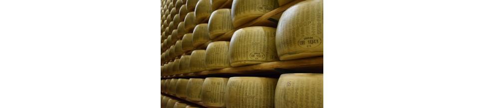 Tous les fromages italiens